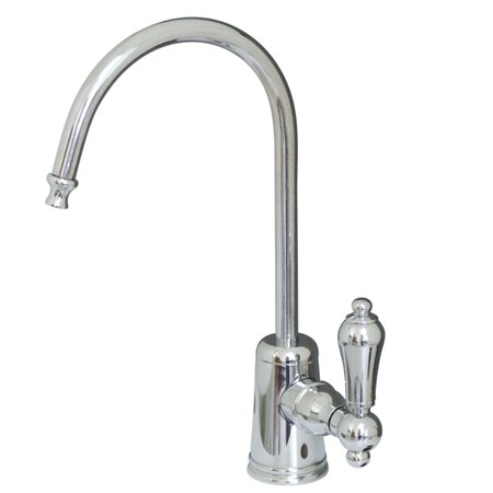Restoration Single Handle Kitchen Faucet by Kingston Brass