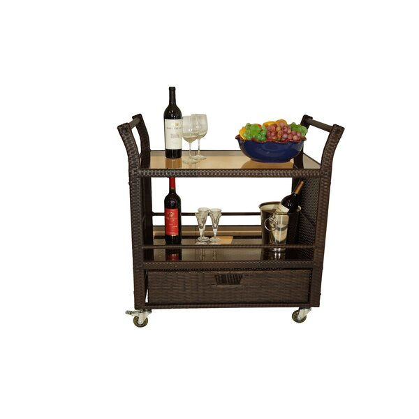 Horrell Bar Serving Cart by World Menagerie