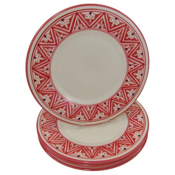 Nejma Stoneware 11 Dinner Plate (Set of 4) by Le Souk Ceramique