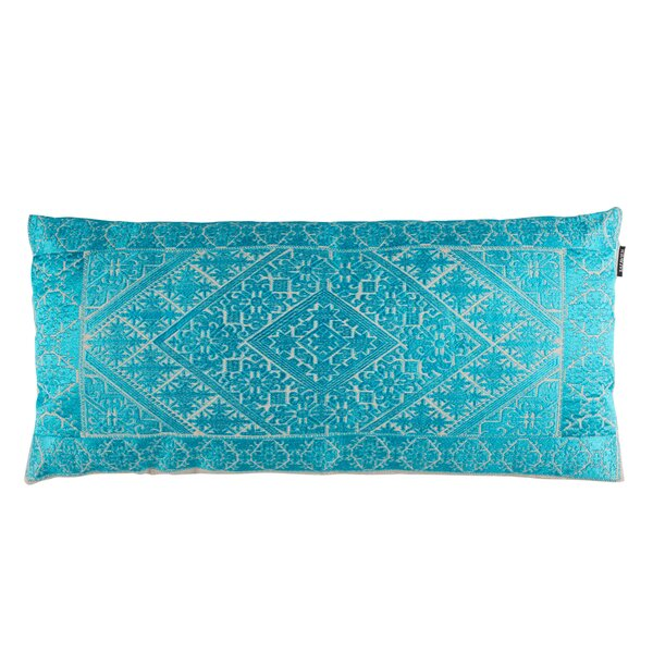 Poitra Embroidered Lumbar Pillow by Bungalow Rose