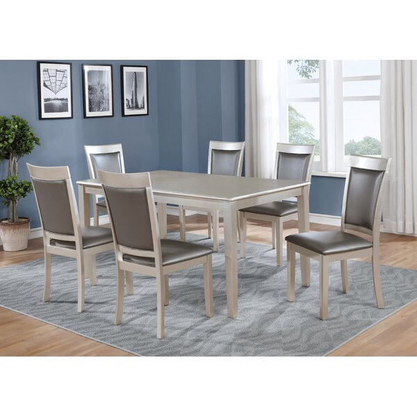 Kitterman 7 Piece Dining Set by House of Hampton
