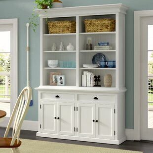 Amityville Modern Oversized Set Bookcase by Beachcrest Home