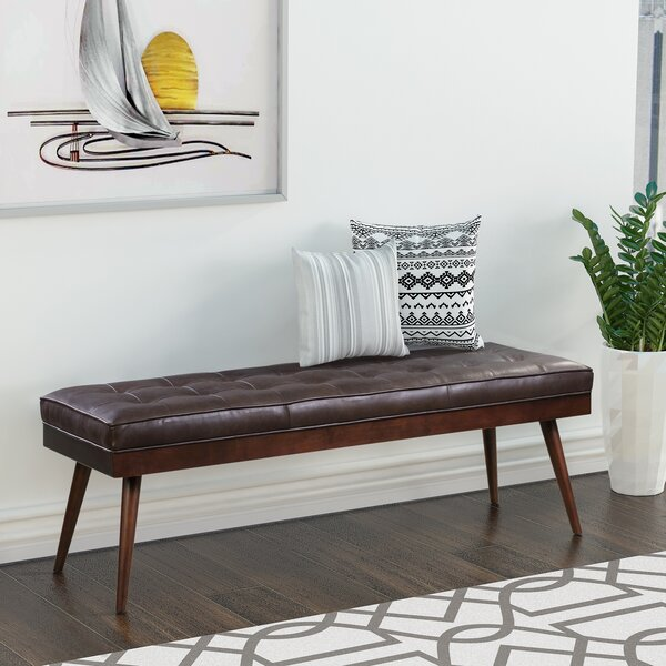 Cleora Upholstered Bench by Foundry Select