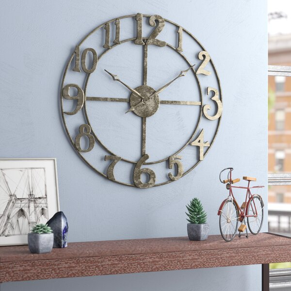 Oversized Augustine 32.25 Wall Clock by Trent Austin Design