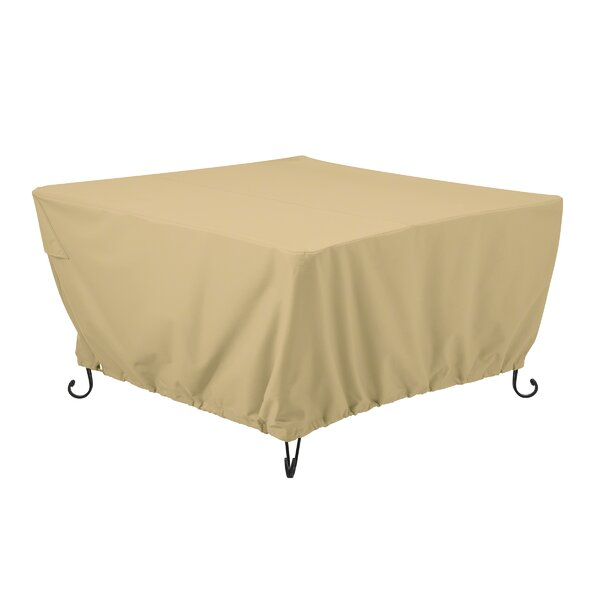 Jelani Square Patio Fire Pit Table Cover by Freeport Park