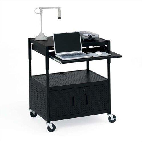 Height Adjustable Multimedia Presentation AV Cart by Bretford Manufacturing Inc