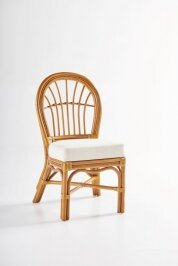 Strachan Patio Dining Chair with Cushion by Bay Isle Home