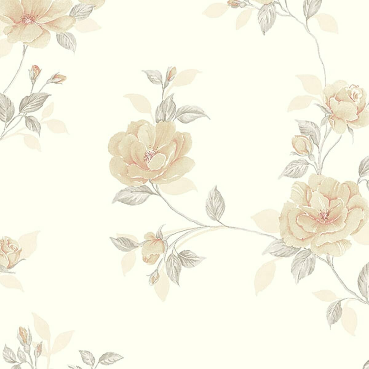 August Grove Everman 33 L X 21 W Floral And Botanical Wallpaper