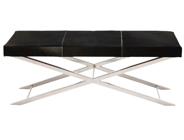 Westbrook Leather Bench by Ebern Designs