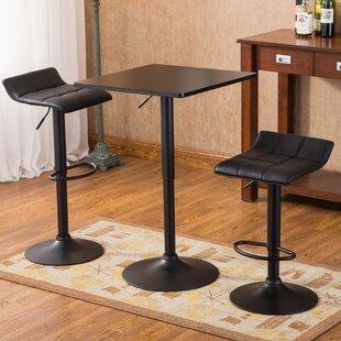 Yoder 3 Piece Pub Table Set & Modern \u0026 Contemporary 3 Piece Pub Table Set | AllModern