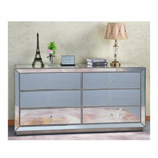 Snyder 6 Drawer Double Dresser by Rosdorf Park
