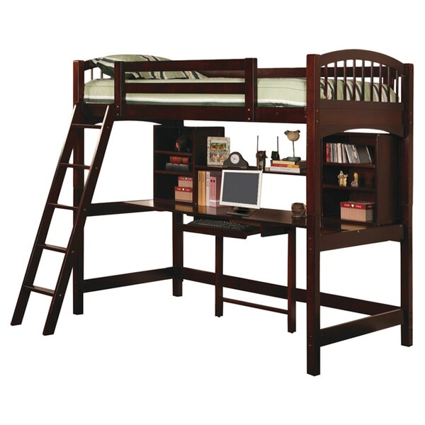 Dorena Twin Low Loft Bed by Wildon Home ®