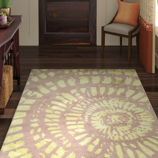 Camden Plum & Mist Area Rug by World Menagerie