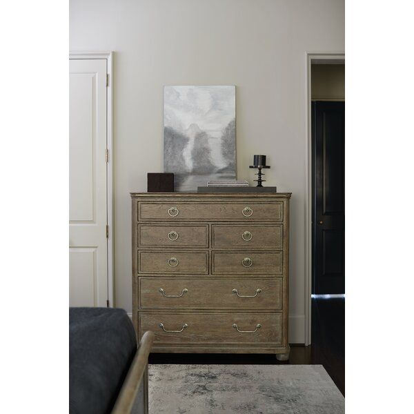Rustic Patina 3 Drawer Nightstand by Bernhardt
