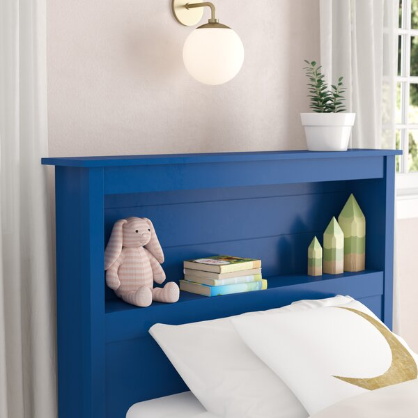 Mikel Twin Bookcase Headboard by Viv + Rae