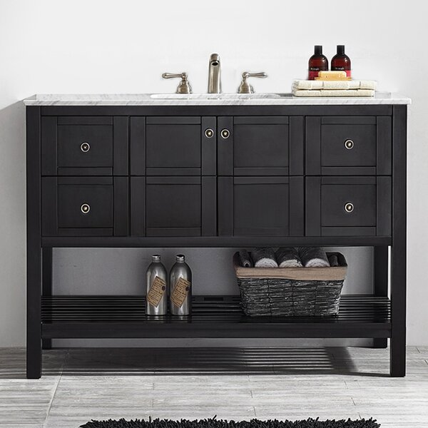 Caldwell 48 Single Bathroom Vanity Set by Beachcre