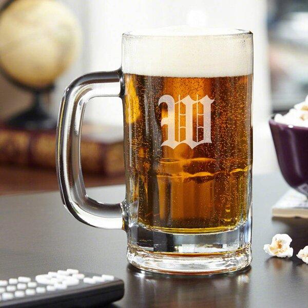 Steigerwald Personalized 14 oz. Beer Mug by Red Barrel Studio