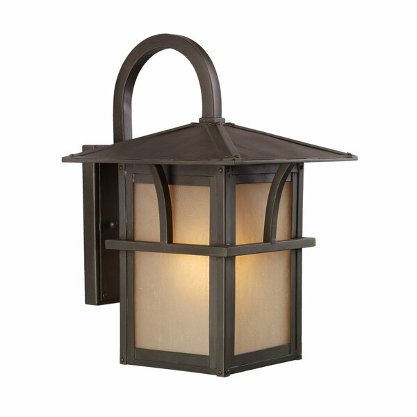 Bush Creek 1-Light Outdoor Wall Lantern by Darby Home Co