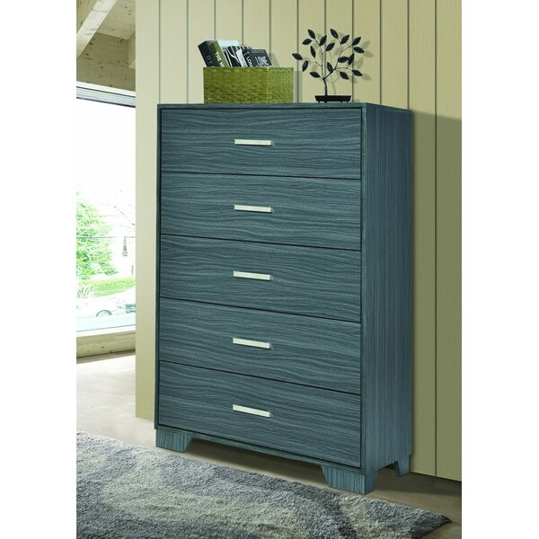 Brookins 5 Drawer Chest by Red Barrel Studio