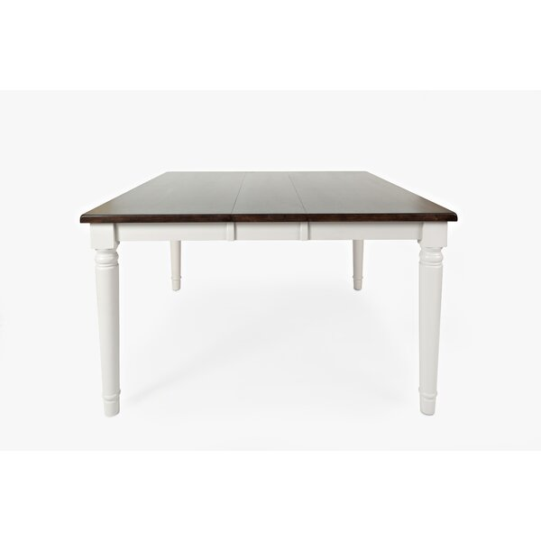 Hickerson Counter Height Drop Leaf Solid Wood Dining Table by Alcott Hill