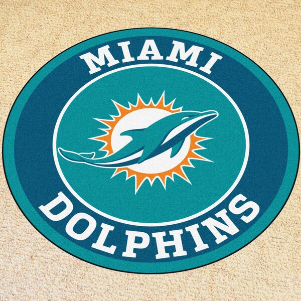 NFL Miami Dolphins Roundel Mat by FANMATS