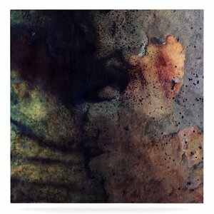 Mixed Media 'Abstraction No 12' Graphic Art Print on Metal by East Urban Home