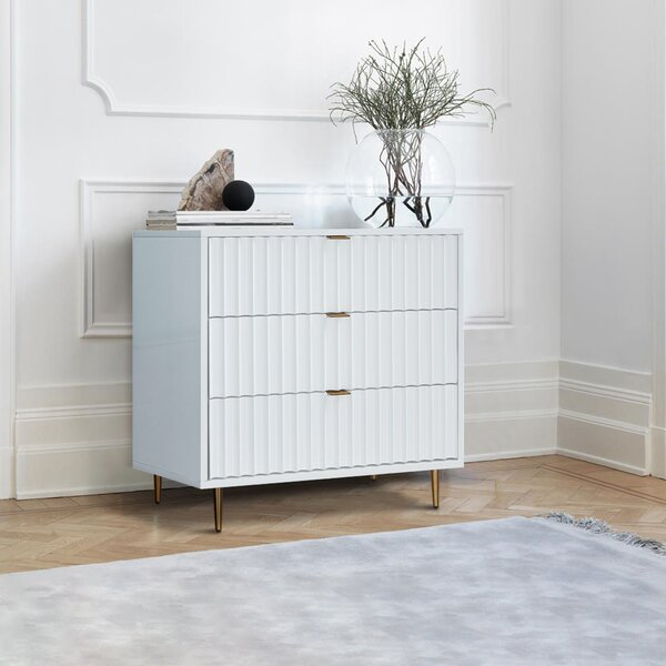 Miesha 3 Drawer Bachelors Chest by Brayden Studio