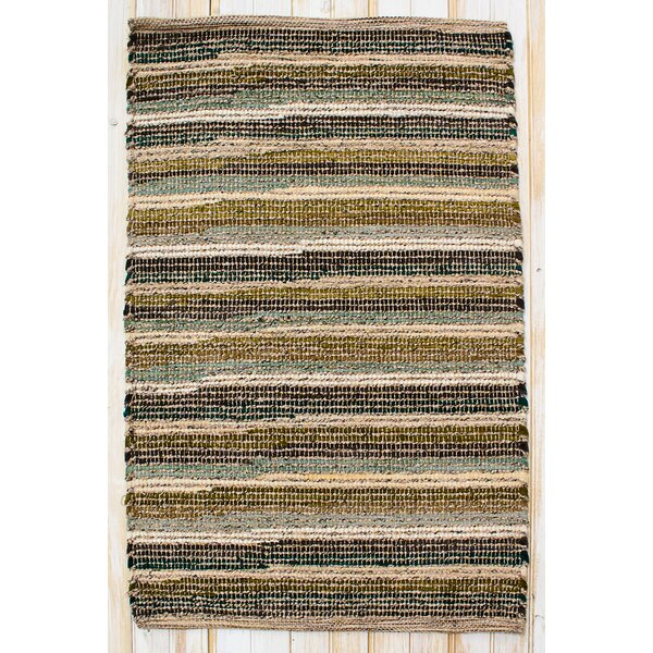 Paris Moss Green Rug by CLM