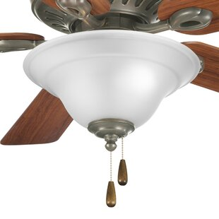 Best Reviews 3-Light Bowl Ceiling Fan Kit By Charlton Home
