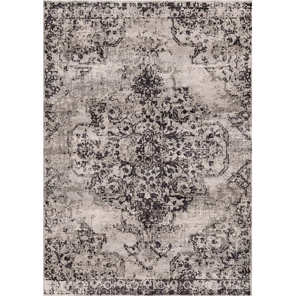 Aliza Handloom Dark Gray Area Rug by Bungalow Rose