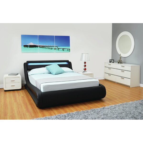 Haskett Serpentine Full Platform Storage Configurable Bedroom Set by Brayden Studio