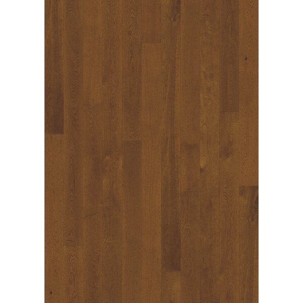 Canvas 5 Engineered Oak Hardwood Flooring in Sorrel by Kahrs