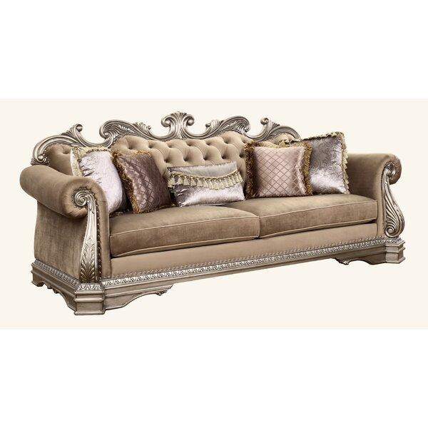 Top Offers Amia Sofa w/5 Pillows by Rosdorf Park by Rosdorf Park