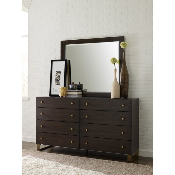 Austin 8 Drawer Double Dresser with Mirror by Rachael Ray Home