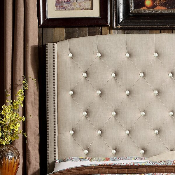 Martins Upholstered Panel Headboard by Darby Home Co