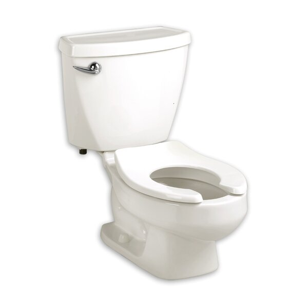 Aqualyn 1.28 GPF Round Two-Piece Toilet by American Standard