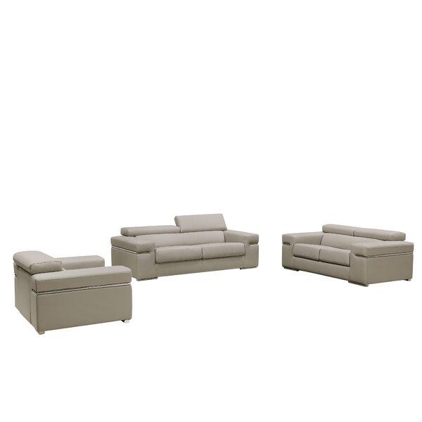 Manatuto 3 Piece Living Room Set by Orren Ellis