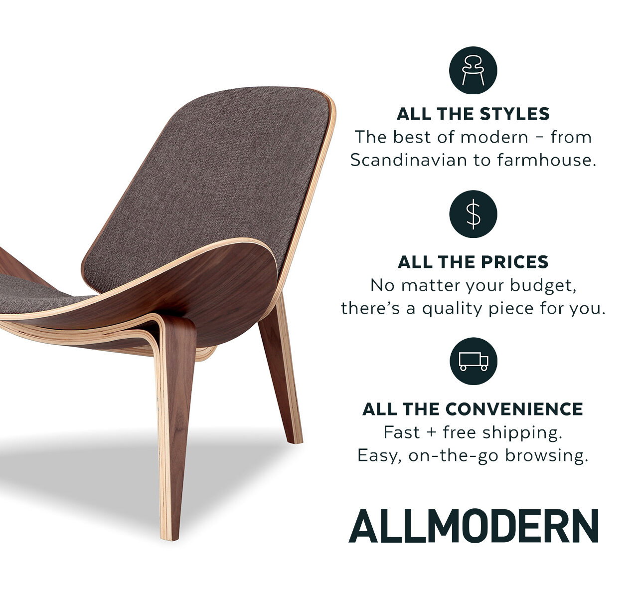 AllModern: All the Styles, All the Prices, All the Convenience