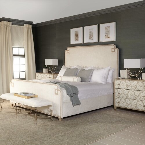 Savoy Place Upholstered Standard Bed by Bernhardt