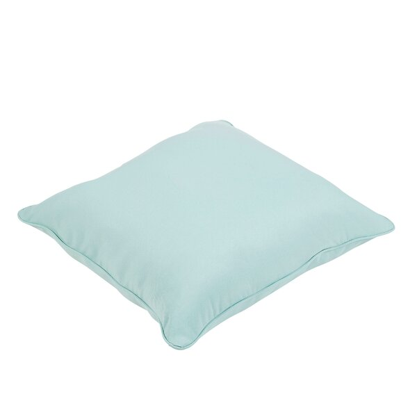 Colville Solid Indoor/Outdoor Square Floor Pillow by Rosecliff Heights