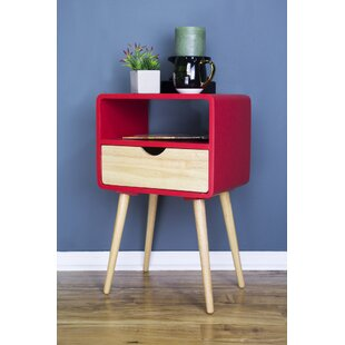 Euro 1 Drawer End Table by Heather Ann Creations