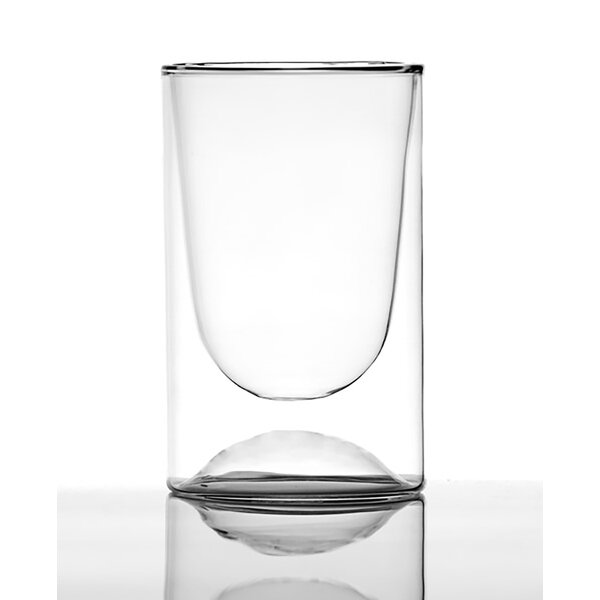Gloww 8 oz. Double Wall Glass (Set of 2) by Highwave Inc.