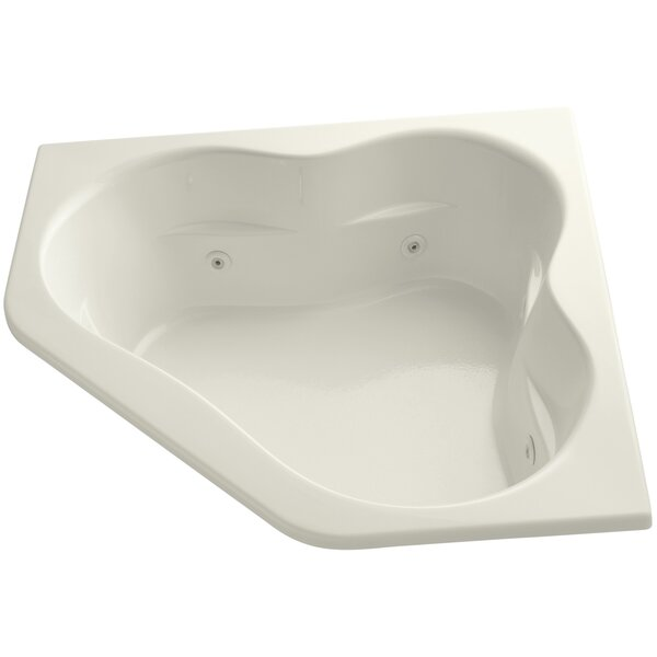 Tercet 60 x 60 Drop in Air/Whirlpool Bathtub by Kohler