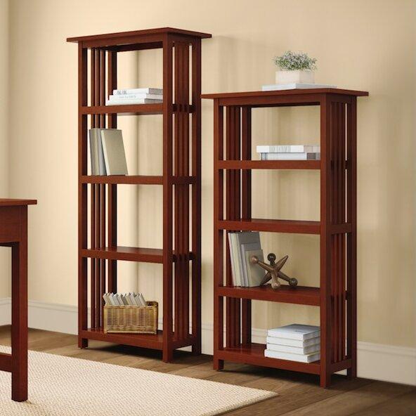 Kingsland Etagere Bookcase by Charlton Home