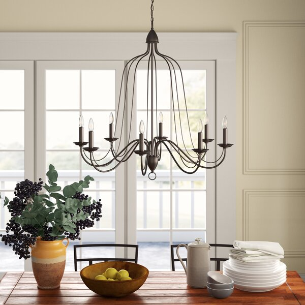 Edite 8 - Light Candle Style Empire Chandelier By Birch Lane™ Heritage