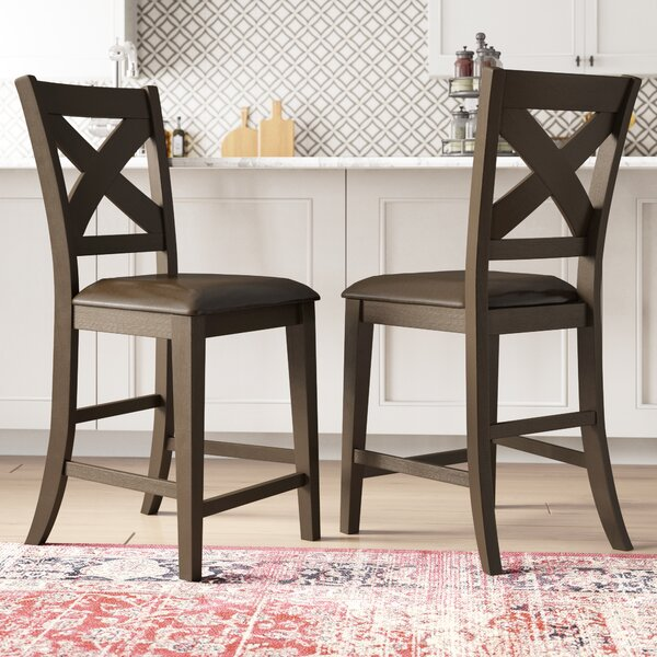 York 24 Bar Stool (Set of 2) by Alcott Hill