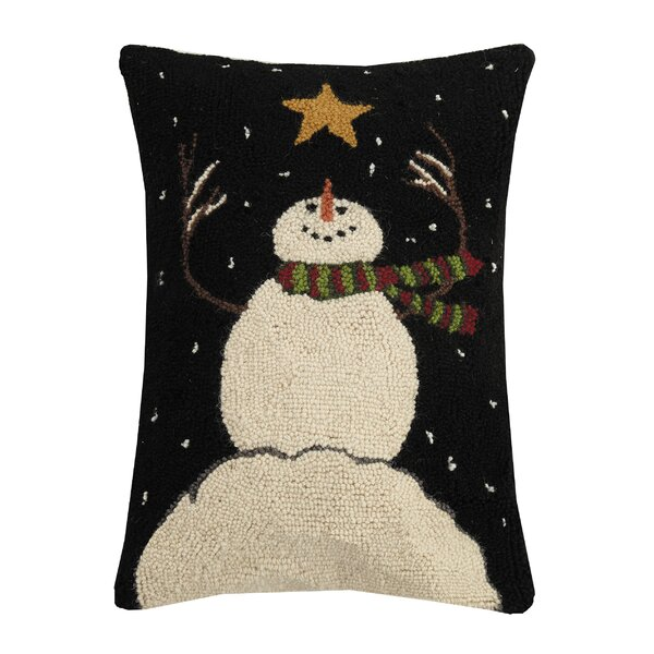 Cade Snowman Throw Pillow by The Holiday Aisle