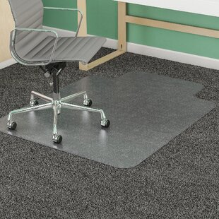 Medium Pile Carpet Beveled Edge Chair Mat by Deflect-O Corporation
