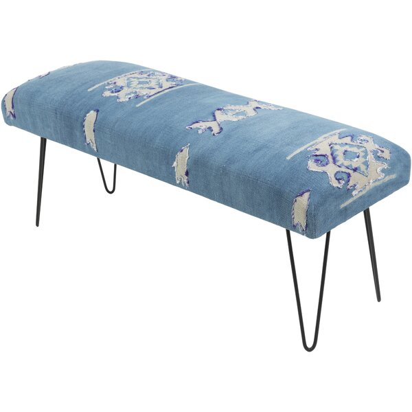Grady Global-Inspired Upholstered Bench by Langley Street Langley Street™