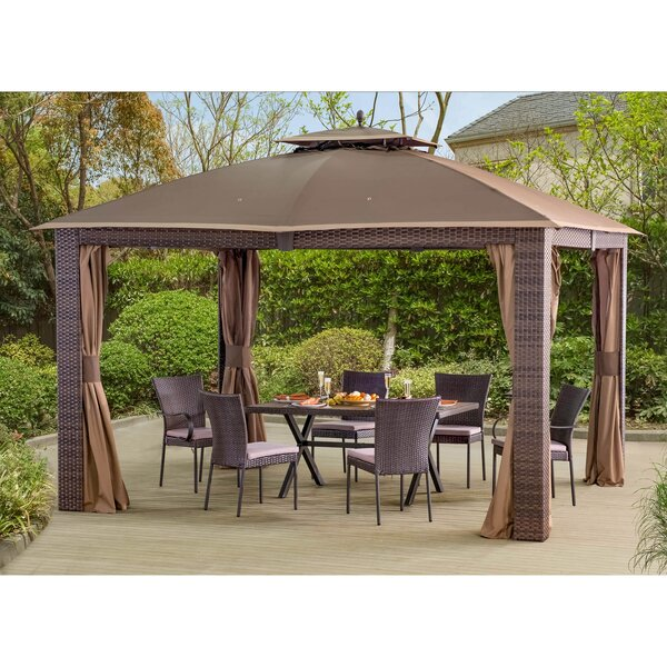 Sonoma 12 Ft. W x 10 Ft. D Steel Patio Gazebo by Sunjoy